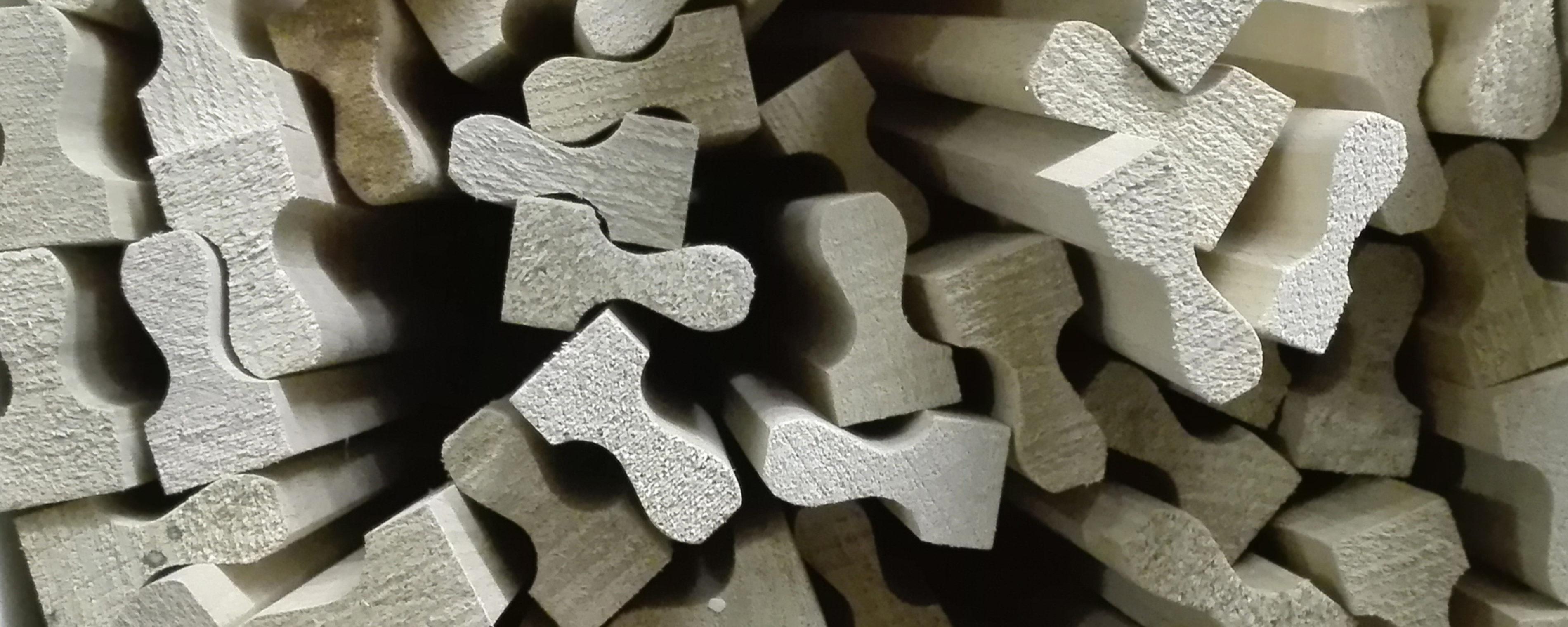 montatura legno