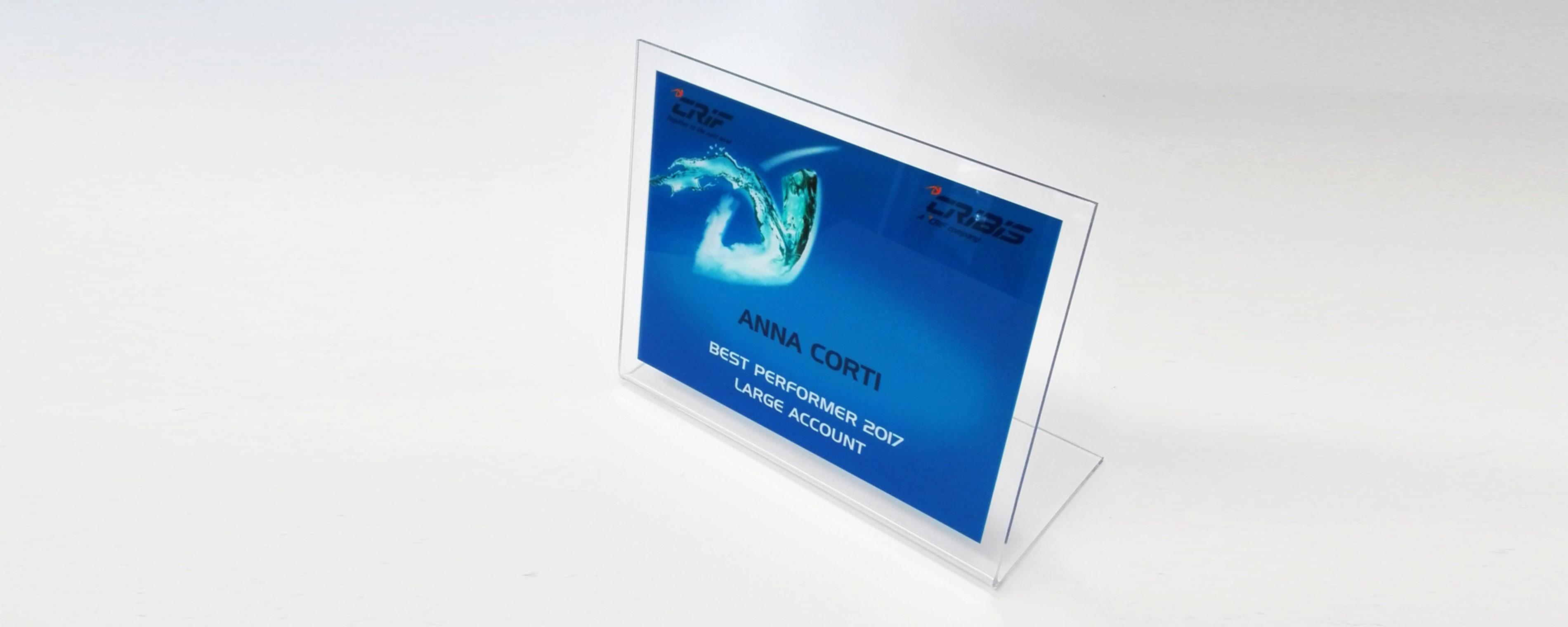 Incisione e taglio plexiglass
